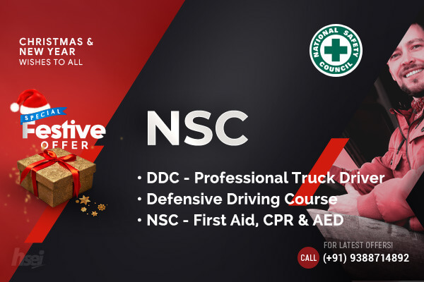 NSC Defensive First Aid Truck Driver Course