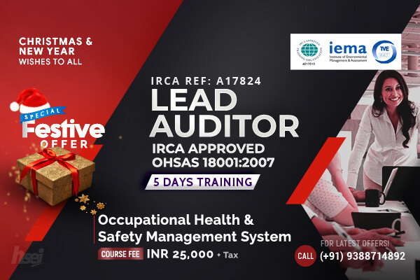 Lead Auditor Occupational Health and Safety Management System