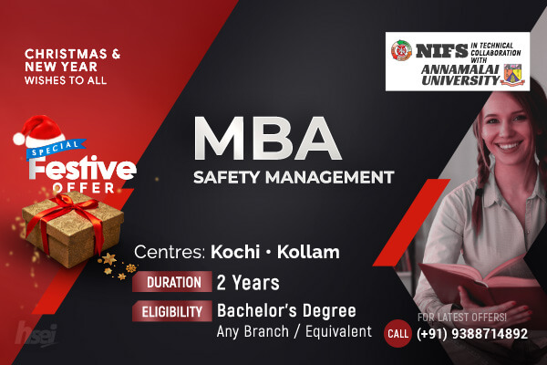 MBA in Safety Management
