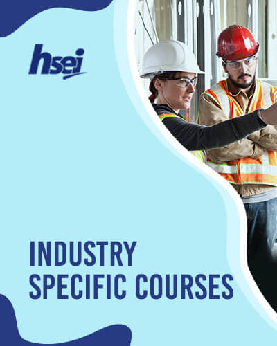 Industry Specific Courses - Fire Warden, Job Hazard Analysis, Lifting Safety, Risk Assessment, H&S Leadership, Confined Space Operations, H2S Training, Permit to Work