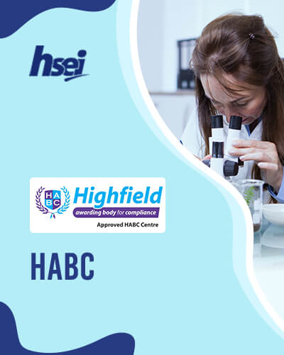HABC - Highfield Awarding Body for Compliance - COSHH, Food Safety, HACCP, Risk Assessment, H&S in the workplace