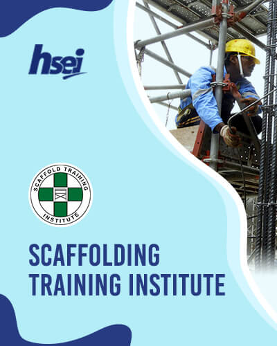 Scaffolding Training Institute - Scaffolding Inspector, Supervisor Erector, User