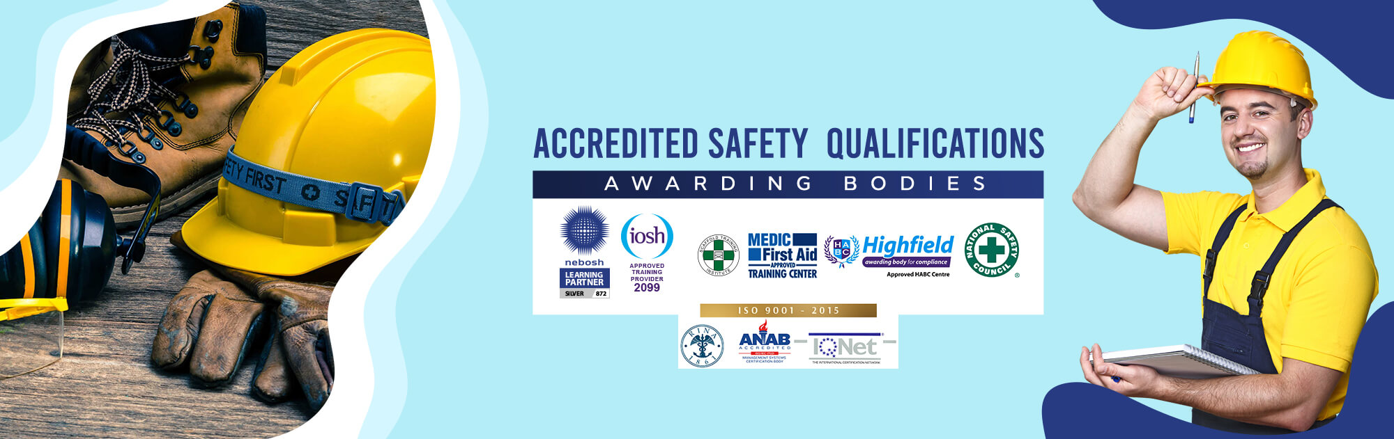 HSEI Accredited Safety Training Institute - NEBOSH, IOSH , MFA, HIGHFIELD, NSC, RINA 1861, ANAB, IQNET