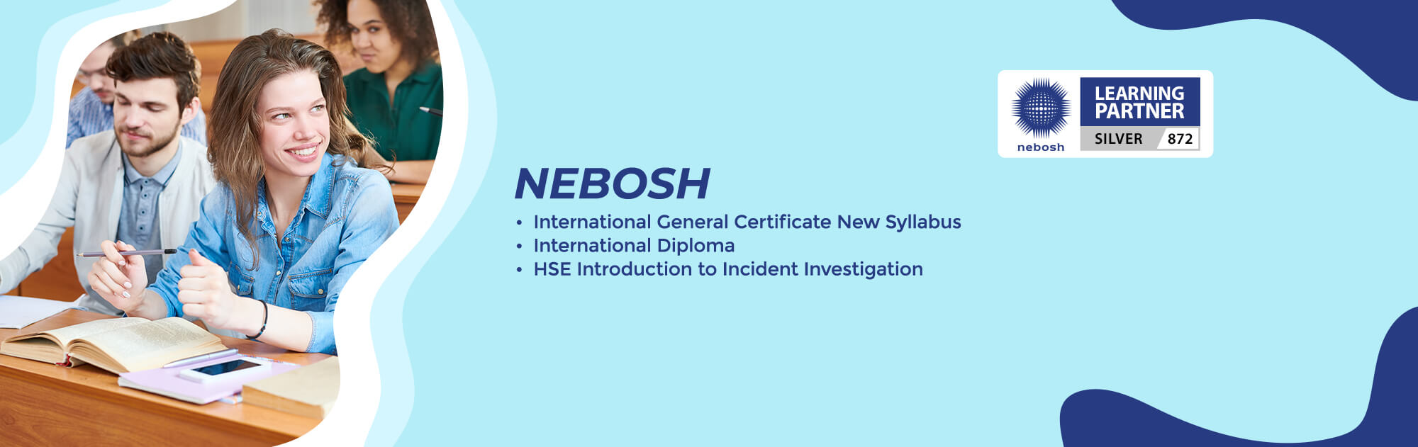 Excellent Training Centre for NEBOSH IGC, NEBOSH International Diploma Admission Started