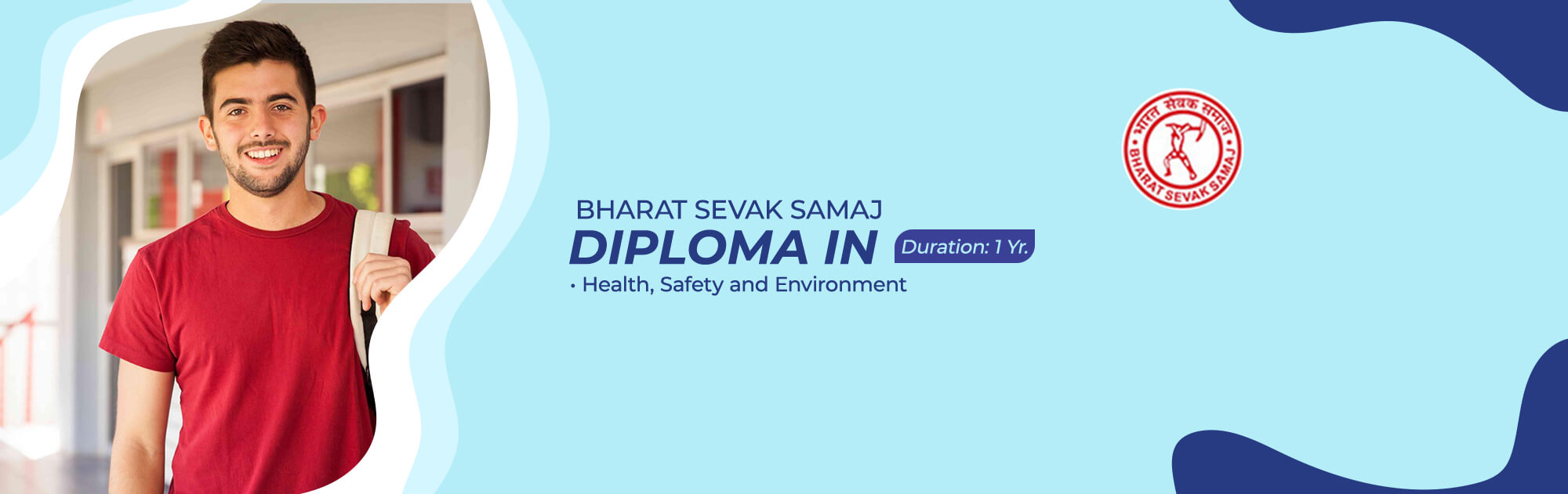 Admission for Bharat Sevak Samaj - Diploma in Health, Safety and Environment Courses